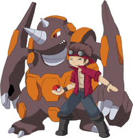 Bustah and Rhyperior