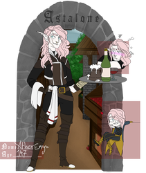 [Astalone] Athier Emrys by TheFallingpiano