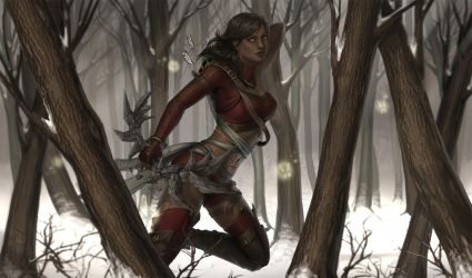[Commission] Through the Forest by ZliDe