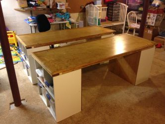 Tables for Legos, Arts, and Crafts by Will-Erwin