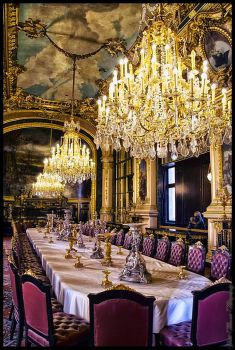 Napoleon's dining room by magotu