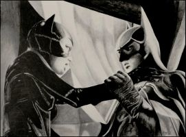 Batman and Catwoman by foxartsbrazil