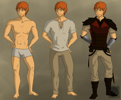Kyle-Final character design by 768dragon