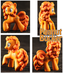 MLP:FiM Blind Bag Peanut Bucker by Dragonsbld