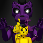 How I Draw: Five Nights At Freddy's 3 by horse14t