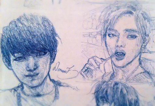 KPOP BTS!!- Jungkook and V by GarnetTheMighty