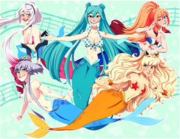 MerMay 29-31: Vocaloid ! by ohpeach