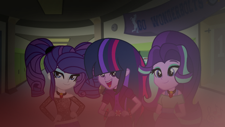 MLP The New Dazzlings Guess Who's Back?(WBG) by SpeedPaintJayvee12