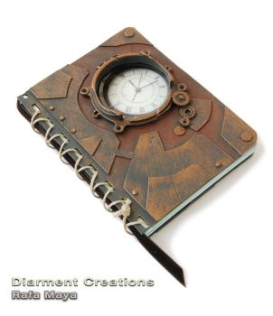 Steampunk Notebook 1909a by Diarment