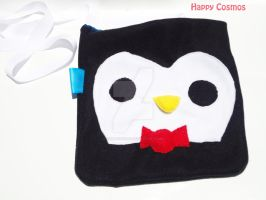 Penguin Messenger Bag by CosmiCosmos