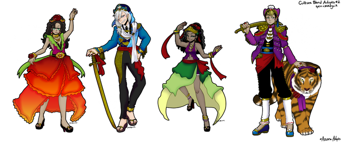 MALAYSIA vs SPAIN - Culture Blend Adopts [OPEN] by azume-adopts