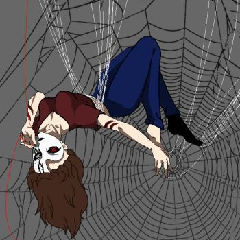 Creepypasta OC: In the Spider's web by darkangel6021