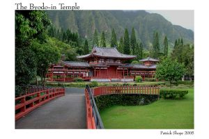The Byodo-In Temple by pshope