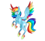 Rainbow Dash by Derpsonhooves