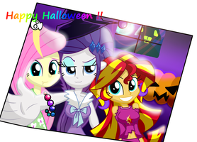 Happy halloween by LOVEHTF421