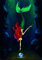 Ariel - Part of your world by hanah-chan