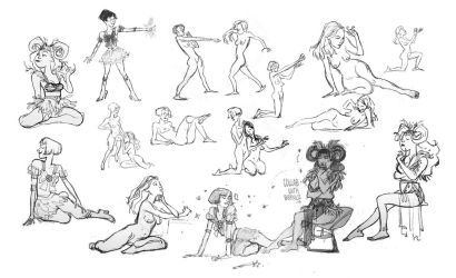 CalArts Life Drawing 5 by Britt315