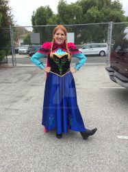 Anna from Disney's Frozen by My2Wings