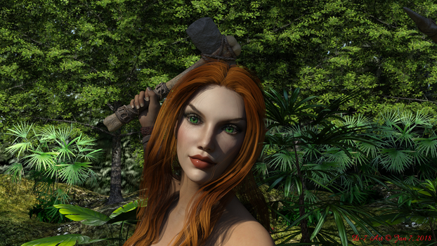 Fern Prehistoric Elves Upclose by ddpepsi