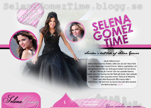 Selena Gomez Layout by Cicciz