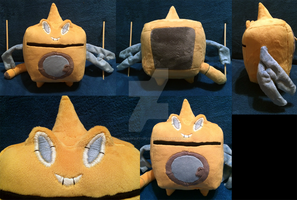 Rotom Pokemon Plush! Wash Form! by GuardianEarthPlush