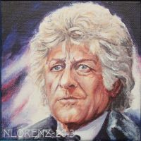 The Third Doctor: 50th Anniversary by napalmnacey