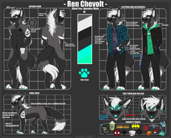 Ren 2017 Reference Sheet by TOPAZxWOLFstudios