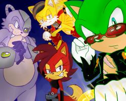 Scourge and the gang by DanielasDoodles