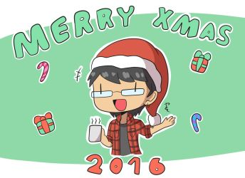 Merry Christmas 2016!! by PitClover