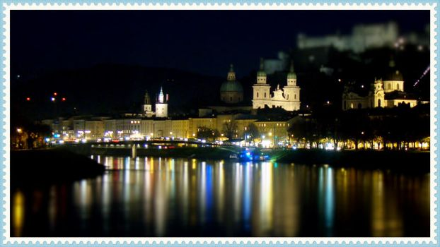 Night in Salzburg by semeniuc