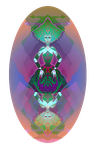INCREDIBLY COLORFUL QUEEN OF DIAMONDS by ADAtheQueenOfHEARTS