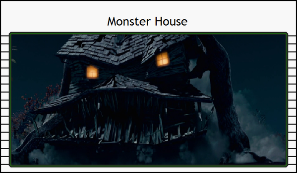Admirable Animations-Monster House by TheCynamaticals