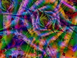 A Crazy Colourful World by Thelma1