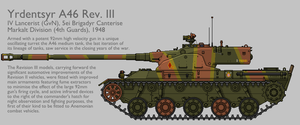 A46 Rev. III Medium Tank [Graphic|Coloured] by SixthCircle