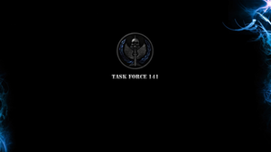 Task Force 141 rotating emblem by g3xter