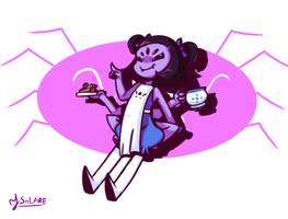 Toriel!Muffet by YSolaire
