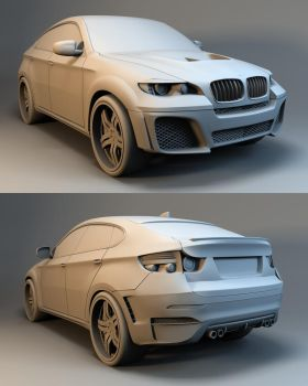 BMW X6 tuned by Linolafett