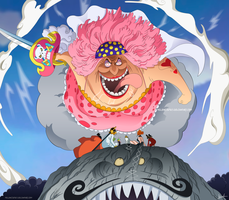One Piece 873 - Big Mom by Melonciutus