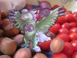 Paperchild 747.Pokemon#641 - Tornadus