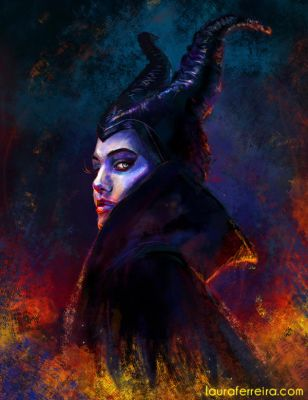 Maleficent by Laura-Ferreira