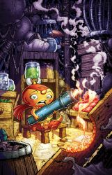 Pocket God 17: Color cover by RoloMallada