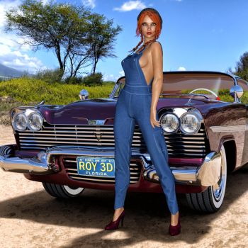 '58 Plymouth by Roy3D