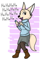 Fenneko by Dazed-and-Wandering