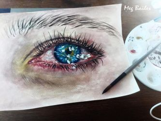 Eye Study 2 by MegBailes