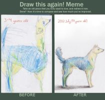 Draw this again meme by orkinas