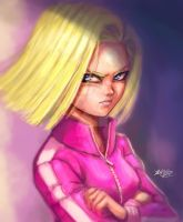 Android18 track suit by Mark-Clark-II