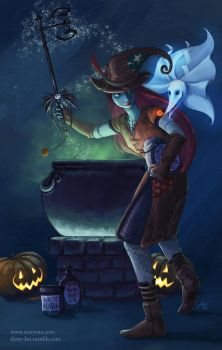 Pumpkinhead - Sally by furafura