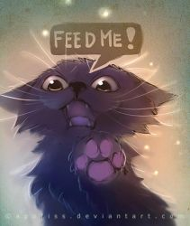 feed me or else... by Apofiss