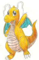 Dragonite by Proshi