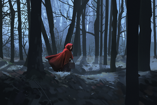 Red riding hood by snatti89